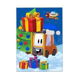 Аппликация пластилином «Новогодний подарок»