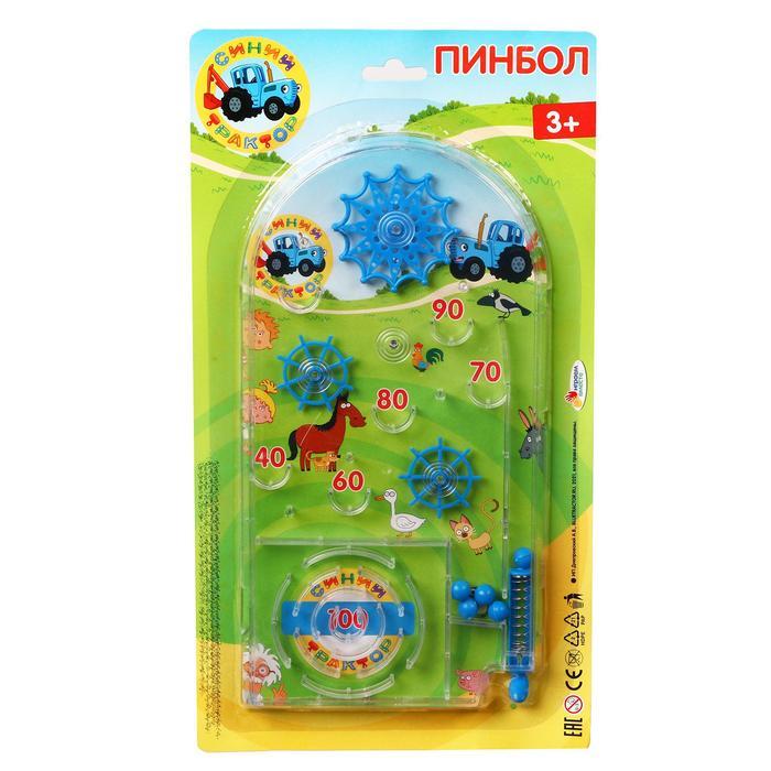 Настольная игра «Пинбол. Синий трактор»