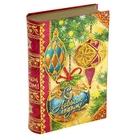 """Коробка-книга подарочная """"Новогодние шары"""""""