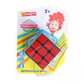Логическая игра «Фиксики» 12×16×6 см, размер кубика: 3×3 см
