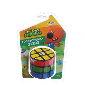 Логическая игра «Ми-ми-мишки» 14×19×7 см, размер кубика: 3×3 см