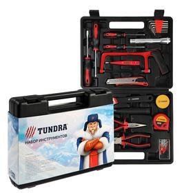 """Набор инструментов в кейсе TUNDRA """"С Новым Годом"""", подарочная упаковка, 31 предмет"""