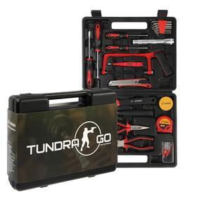 Набор инструментов в кейсе TUNDRA, подарочная упаковка, 31 предмет