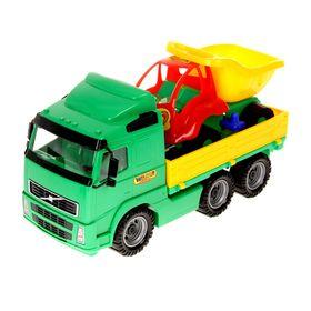 Набор машинок 'Автомобиль бортовой и Муравей-самосвал', цвета МИКС Ош