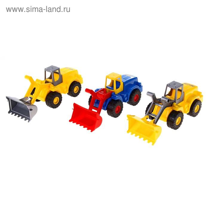 """Трактор-погрузчик """"Агат"""", цвета МИКС"""