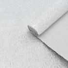 Бумага креп, с фольгированием, цвет серебряный, 0,5 х 2,5 м