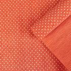 """Бумага креп """"Горошек"""", цвет красный, 0,5 х 2,5 м"""