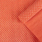 "Crepe paper ""Polka dot"", color red, 0,5 x 2,5 m"