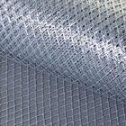 "Grid ""Metallic"", silver color, 48 cm x 4.5 m"