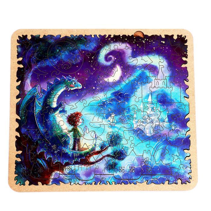 Пазл - картина из дерева «В волшебной стране» 83 детали
