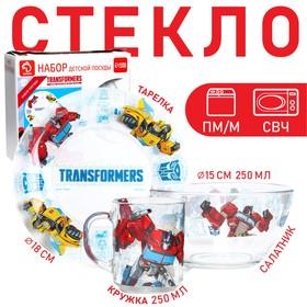 """Набор детской посуды """"Transformers"""", Трансформеры"""