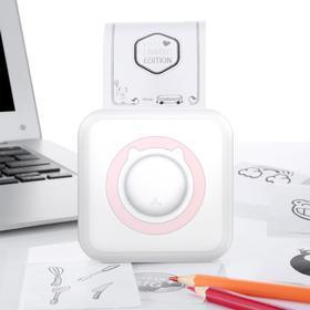 Мини-принтер, Bluetooth, термо-печать на чековой ленте, Android/iOS, АКБ 1000 мАч, microUSB