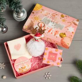 "Подарочный набор KAFTAN ""New Year"" носки р, 36-39 , ёлочная игрушка"
