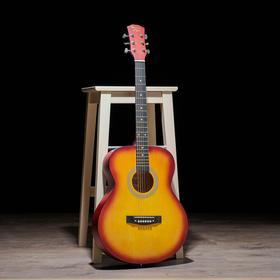 Гитара акустическая, цвет санберст, 102см
