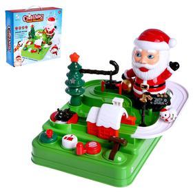 Настольная игра-лабиринт «Рождественская гонка»