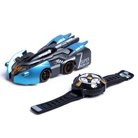 Antigravitational machine WALL RACER, Radio control, battery, Rides on walls, mix