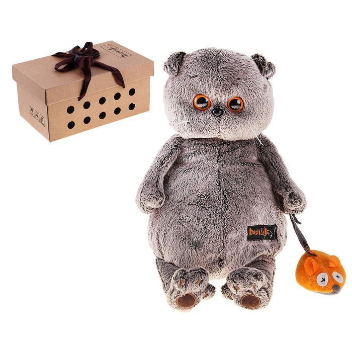 Мягкая игрушка «Басик и мышка» - фото 4469027