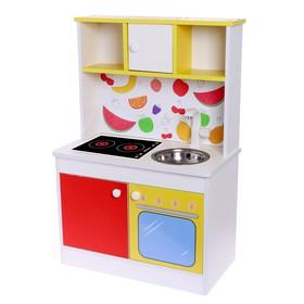 Набор игровой мебели «Детская кухня Фрукты»