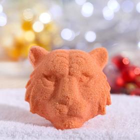"""Новогодняя бомбочка для ванн """"Тигр"""" Шоколад"""