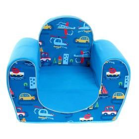 Мягкая игрушка «Кресло город»