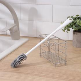 Ёрш для мытья посуды универсальный, 33 см
