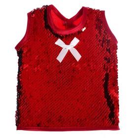 Одежда для кукол «Сарафан с пайетками»