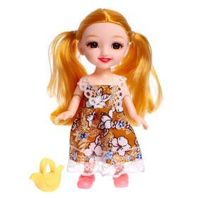 Кукла модная шарнирная «Сонечка» в платье, с аксессуаром, МИКС