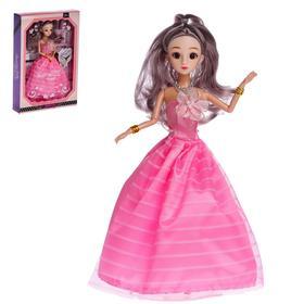 Кукла модная шарнирная «Эмми» в пышном платье МИКС