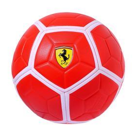 Мяч футбольный FERRARI р.5, цвет красный