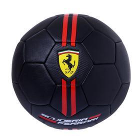 Мяч футбольный FERRARI р.5, цвет чёрный