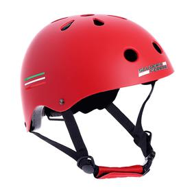 Шлем защитный, детский FERRARI р. M (56-58 см), цвет красный