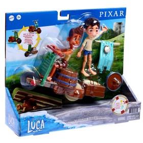"""Набор игровой Pixar """"Лука Скутер. Строй и круши"""" GXK62"""