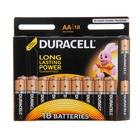 Батарейка алкалиновая Duracell, AA, LR6-18BL, блистер, 18 шт.