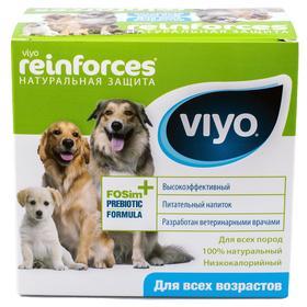 Пребиотический напиток VIYO Reinforces All Ages DOG для собак всех возрастов, 7х30 мл