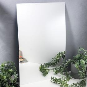 "Наклейка пластик зеркальная ""Прямоугольное зеркало"" 60х40 см"