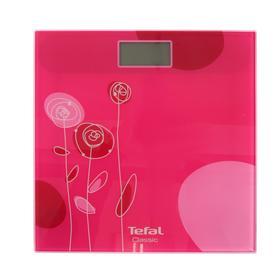 Весы напольные Tefal PP1147V0, электронные, до 160 кг, розовые