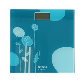 Весы напольные Tefal PP1148V0, электронные, до 160 кг, бирюзовые