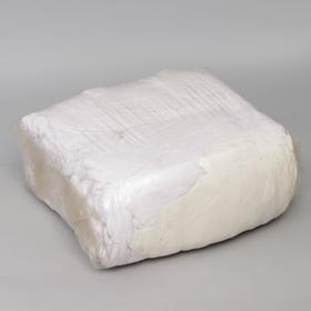 Ветошь «Трикотаж», 10 кг, цвет белый