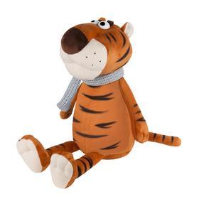 Мягкая игрушка «Тигр Вова в шарфе», 24 см