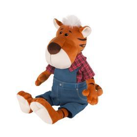 Мягкая игрушка «Тигр Глеб в штанах и клетчатой рубашке», 20 см