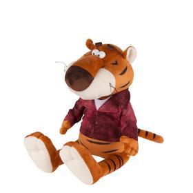 Мягкая игрушка «Тигр Костян в кожаной куртке», 20 см