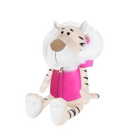 Мягкая игрушка «Тигрица белая в розовой жилетке», 20 см
