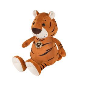 Мягкая игрушка «Тигр Толстяк с медальоном», 20 см