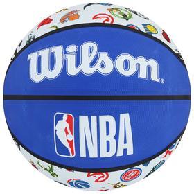 Мяч баскетбольный WILSON NBA All Team, арт.WTB1301XBNBA, размер 7, резина, цвет синий/белый