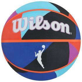 Мяч баскетбольный WILSON WNBA Heir Outdoor, арт. WTB4905XB06, размер 6, резина, бутиловая камера, цвет мультиколор