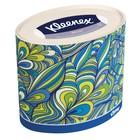 Салфетки бумажные KLEENEX в диспенсере Декор Овал 64 шт