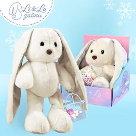Мягкая игрушка «Lu с гирляндой»