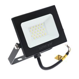 Прожектор светодиодный Luminarte LFL-30W/05, 30 Вт, 5700 К, 2400 Лм, IP65, черный