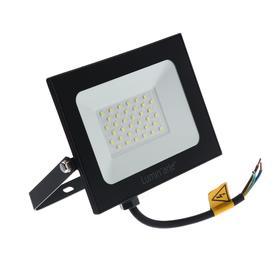Прожектор светодиодный Luminarte LFL-50W/05, 50 Вт, 5700 К, 4000 Лм, IP65, черный