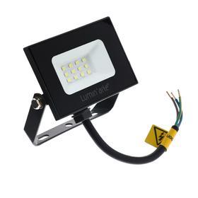 Прожектор светодиодный Luminarte LFL-10W/05, 10 Вт, 5700 К, 800 Лм, IP65, черный